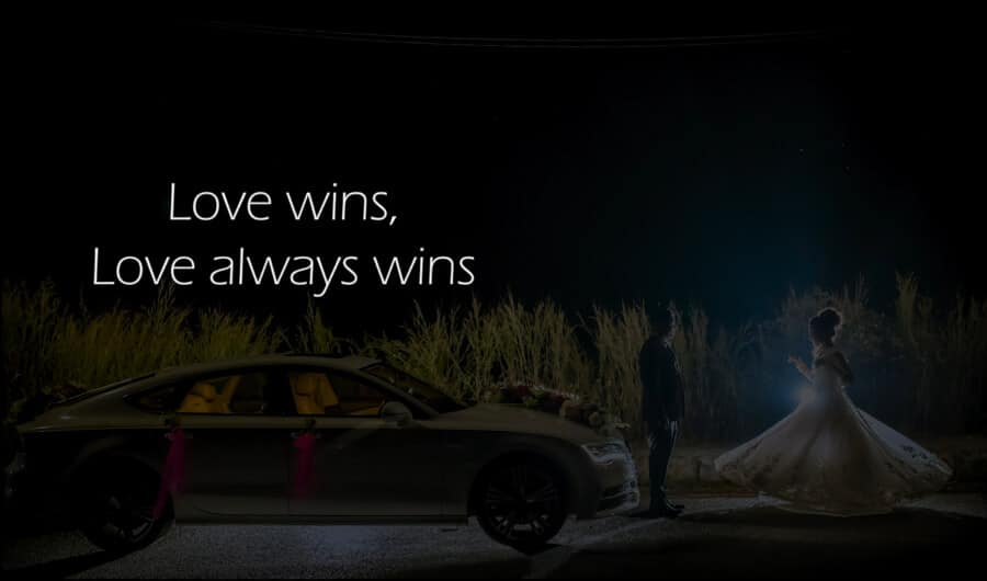 Love wins, Love always wins